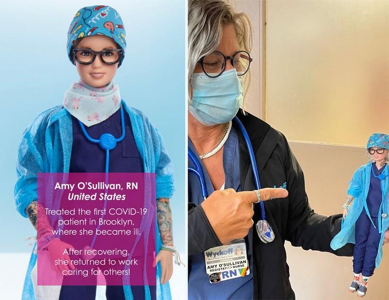 Amy O'Sullivan (US) | Mattel Has Designed Barbie Dolls to Honor Covid-19 Frontline Workers | Zestradar