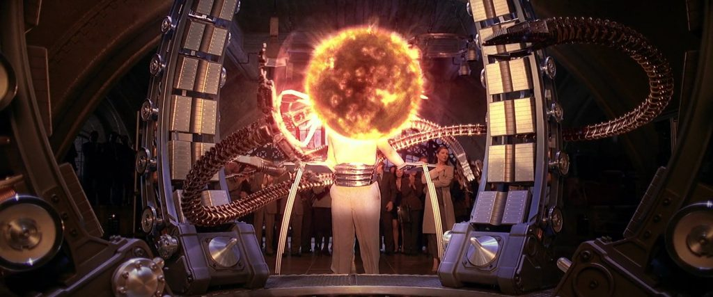 Doc Ock in Spider-Man 2   Most Memorable Movies Where The Bad Guy Saves The Good Guy   Zestradar