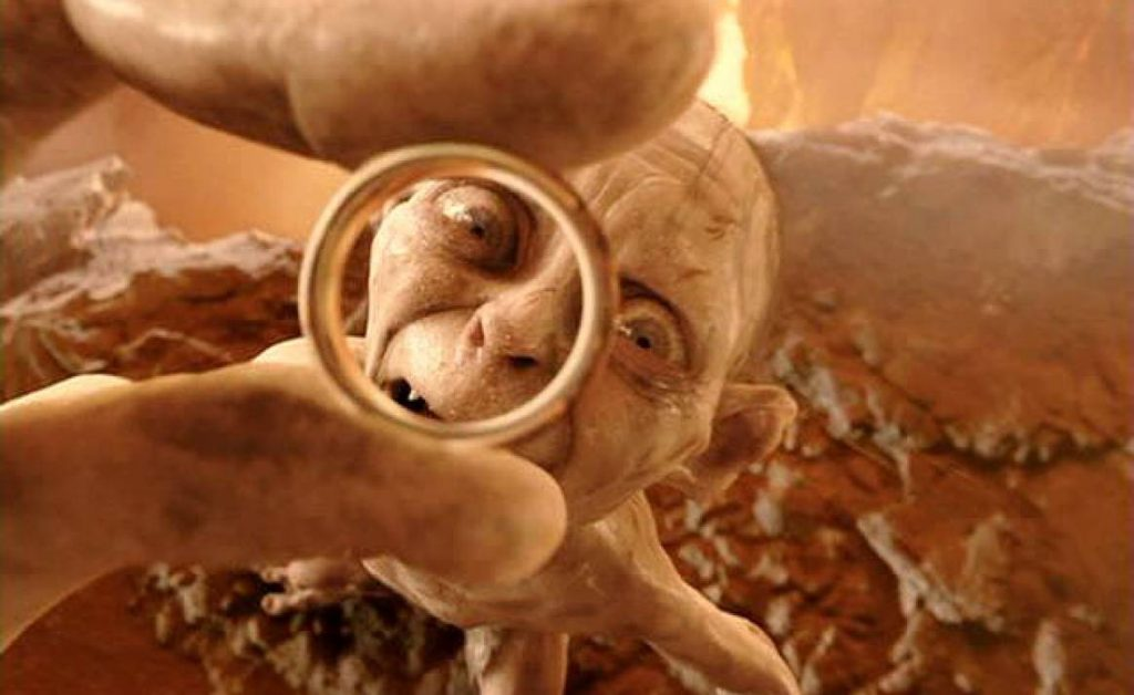 Gollum in Lord of the Rings   Most Memorable Movies Where The Bad Guy Saves The Good Guy   Zestradar