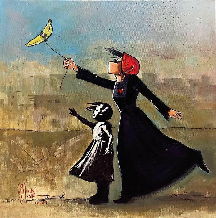 #6   Heartbreaking Works by First Female Afghan Street Artist Shamsia Hassani   Zestradar
