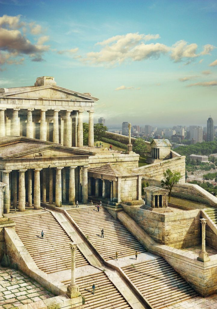 The Acropolis Of Athens | 7 Mythical monuments and What They'd Look Like Today | Zestradar